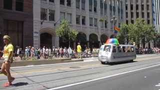San Francisco Pride Parade 2013 Bay Area Rapid Transit BART Mobile