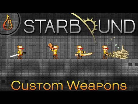 Amazing Custom Starbound Weapons: Reddit Community Edition