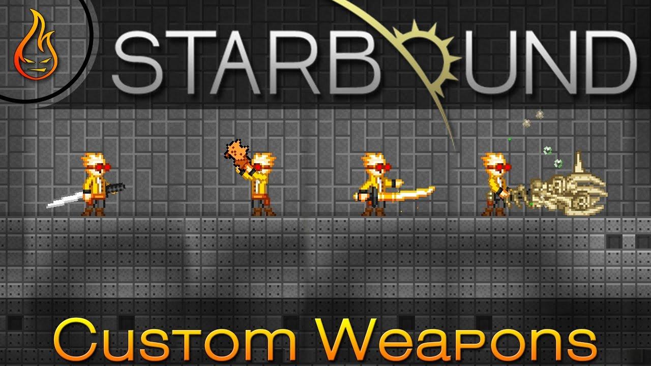 Amazing Custom Starbound Weapons: Reddit Community Edition