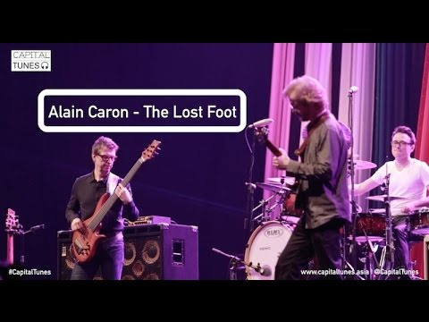 Alain Caron - The Lost Foot / Live at JJF 2015 / Capital Tunes #17