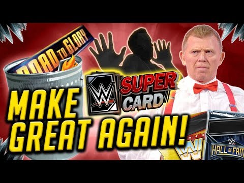 10 WAYS TO MAKE WWE SUPERCARD GREAT AGAIN!!