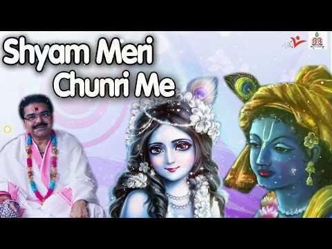 श्याम मेरी चुनरी में !! BEAUTIFUL RADHA KRISHNA BHAJAN !! MRIDUL KRISHNA SHASTRI JI !! FULL LYRICS