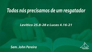 CULTO VESPERTINO - 30/08/2020