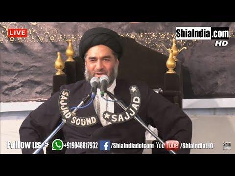 Maulana Syed Ali Raza Rizvi   Majlis 04    Hyderabad, India   13th Jamadi-US-Saani 1439-2018