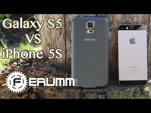 Galaxy S5 VS iPhone 5s: полное сравнение. Война миров: Samsung S5 VS iPhone 5s от FERUMM.COM