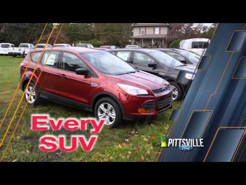 Pittsville Ford Offers 0% for 72 Months on All Ford Vehicles
