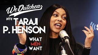 Taraji P Henson talks about FINALLY getting the chance to be funny in her new movie What Men Want!