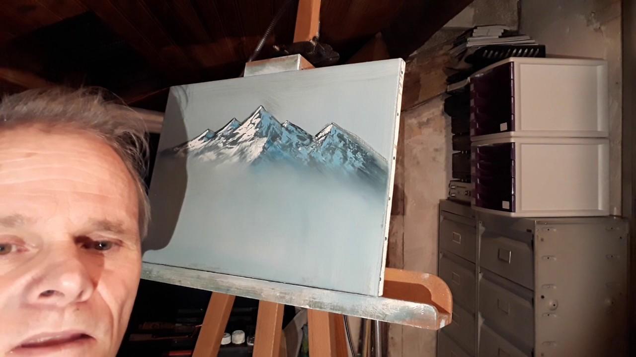 tuto] comment peindre une montagne - peinture