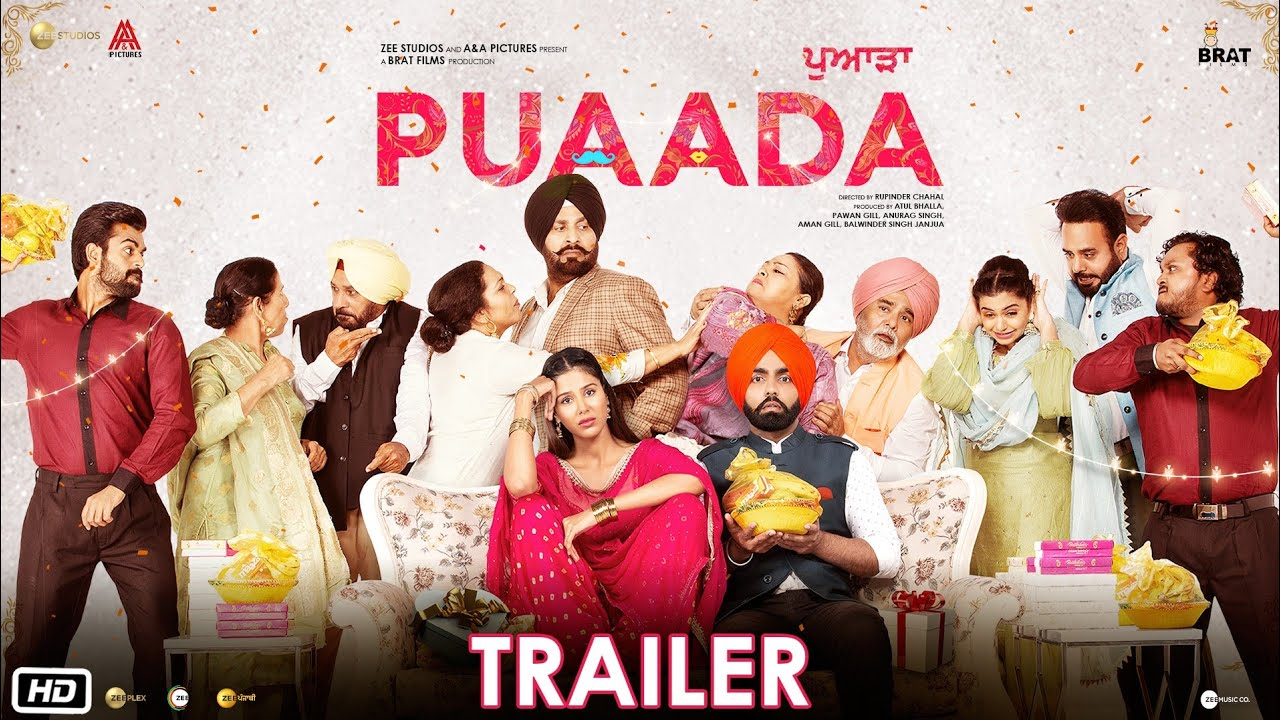Download Puaada | Official Trailer | Ammy Virk | Sonam Bajwa | 2nd April | Punjabi Movie 2021