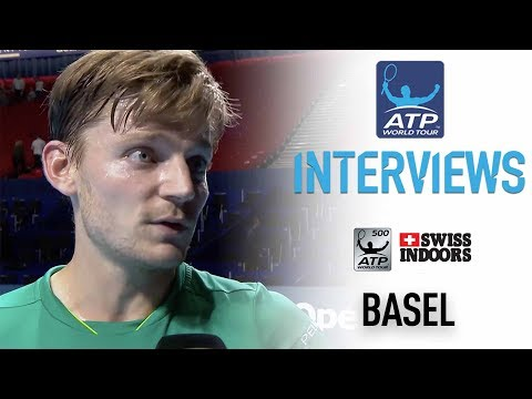 Goffin Reacts To QF Win, Looks Ahead To Federer SF