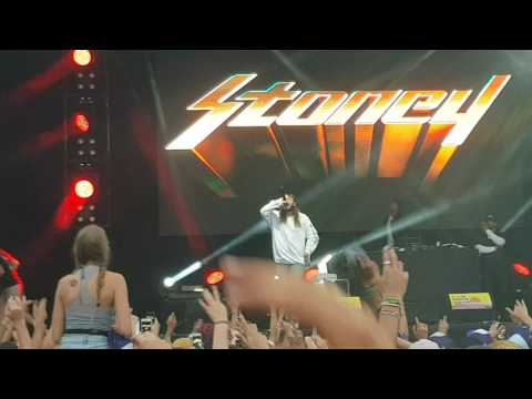 Post Malone - Congratulations  - Live @ Les Ardentes 2017 (HD)