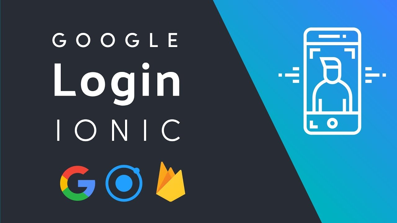 Ionic Google Login for iOS and Android