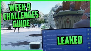 Saison 7, Semaine 9 Fortnite Week 9 Challenges Easy Guide (Semaine 9 Battle Pass) - Fortnite