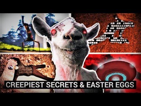 Goat Simulator's Creepiest Secrets \u0026 Easter Eggs