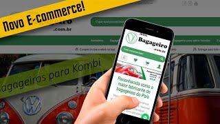 Desenvolvimento do Novo E-commerce MeuBagageiro.com.br de São Bento do Sul - Samuca Webdesign