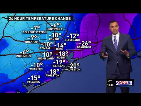 Houston Forecast: Another cold night ahead