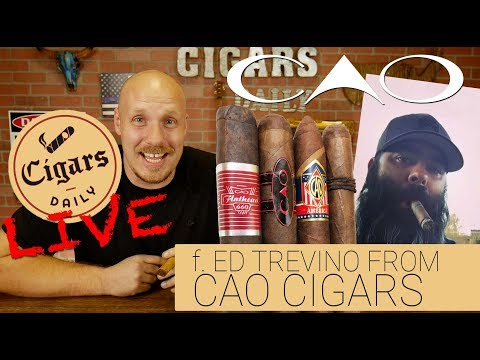 Cigars Daily LIVE (f. Ed Trevino with CAO Cigars)