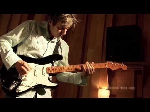Eric Johnson Interview - Up Close at Saucer Studios - part 1 of 3