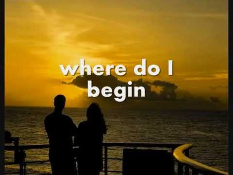 LOVE STORY (Where Do I Begin?) - Andy Williams (Lyrics)