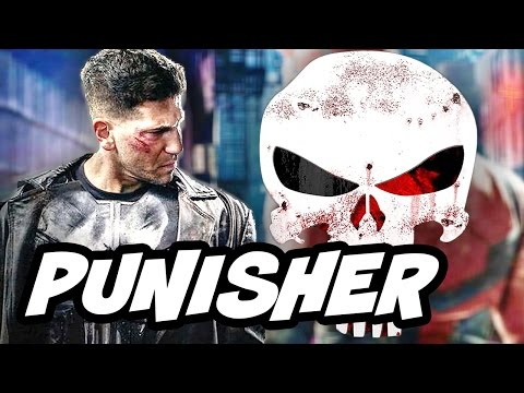 The Punisher Jon Bernthal NYCC Full Panel 2016