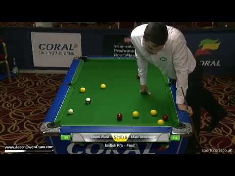 Simon Ward British Open Final 2016