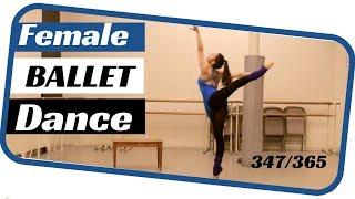 female ballet solo- dancing 365 ballets- ballet solo 347