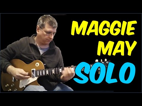 Maggie May by Rod Stewart (Guitar Lesson with TAB)