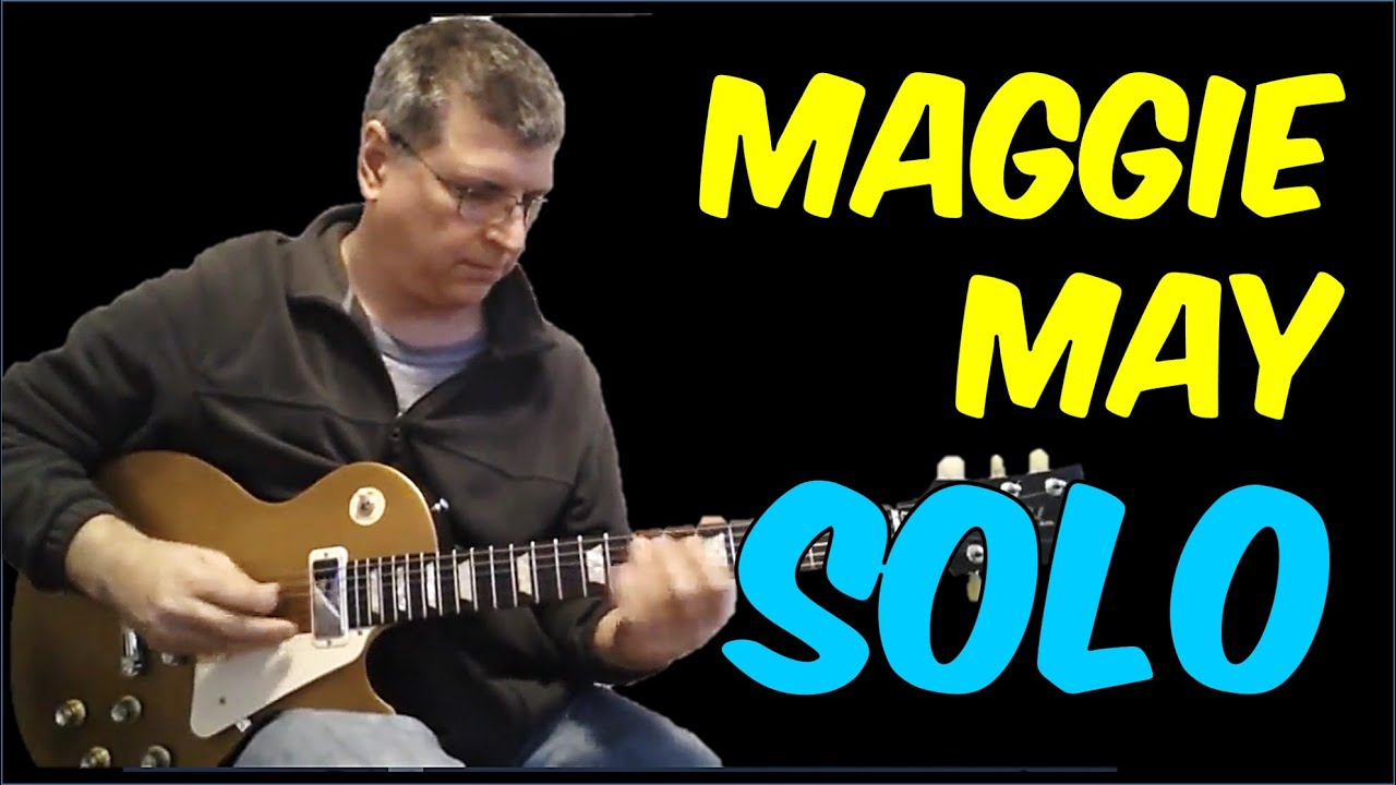 Maggie May By Rod Stewart Guitar Lesson With Tab Youtube