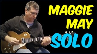 Guitar Lesson - Maggie May (with TAB)