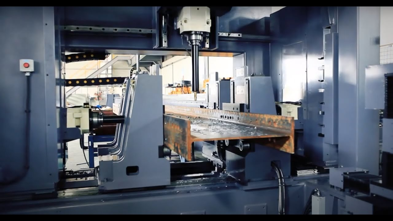 Download H Beam CNC Drill Machine KHD 1306