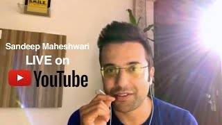 Sandeep Maheshwari LIVE on YouTube