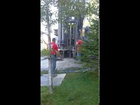 Drilling a New Well in Northern Maine