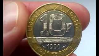 Coin 10 Francs 1990 (video) Mp3