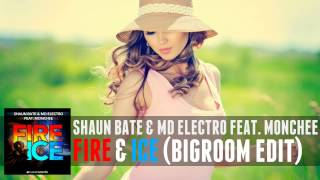 Shaun Bate & MD Electro feat. Monchee - Fire & Ice (Bigroom Edit)
