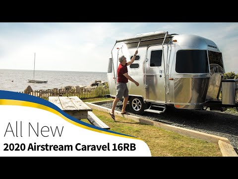 First Look 2020 Airstream Caravel 16RB Travel Trailer Light Weight Walk Through How To