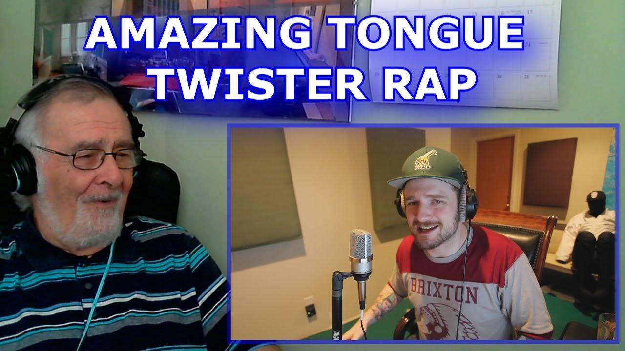 Amazing tongue twister rap