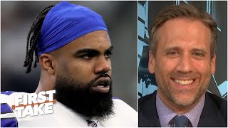 Ezekiel Elliott BARELY makes Max Kellerman's Top 5 NFL RBs list | First Take