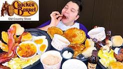 Cracker Barrel • Southern Breakfast Feast • MUKBANG