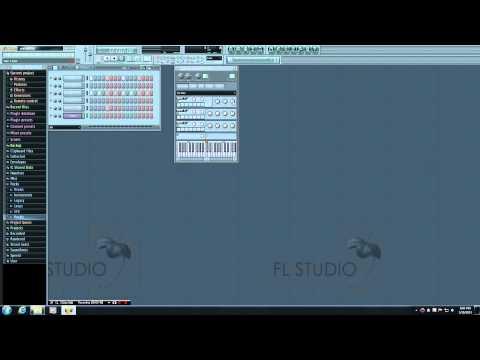 FL Studio Tutorial - 8 - 3xOSC Settings