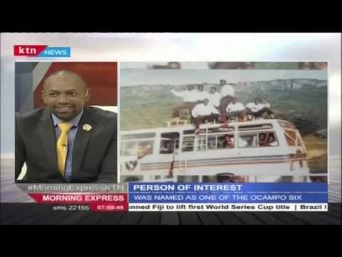 Person of Interest: Joshua Arap Sang on Morning Express, 19th April 2016