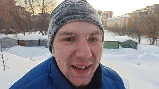 Vlog2019 #9 - Зимние развлечения детей 90-ых. Сальто с гаражей, примёрзнуть языком к трубе и тд.