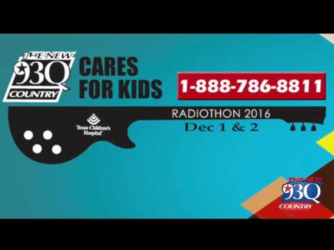 The New 93Q Cares For Kids Radiothon  Deonc song