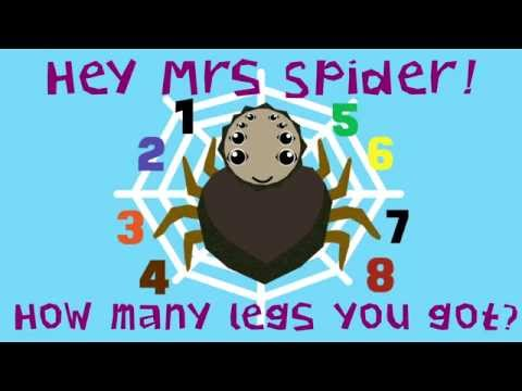 Hey Mrs Spider - Children's counting song by POCO DROM