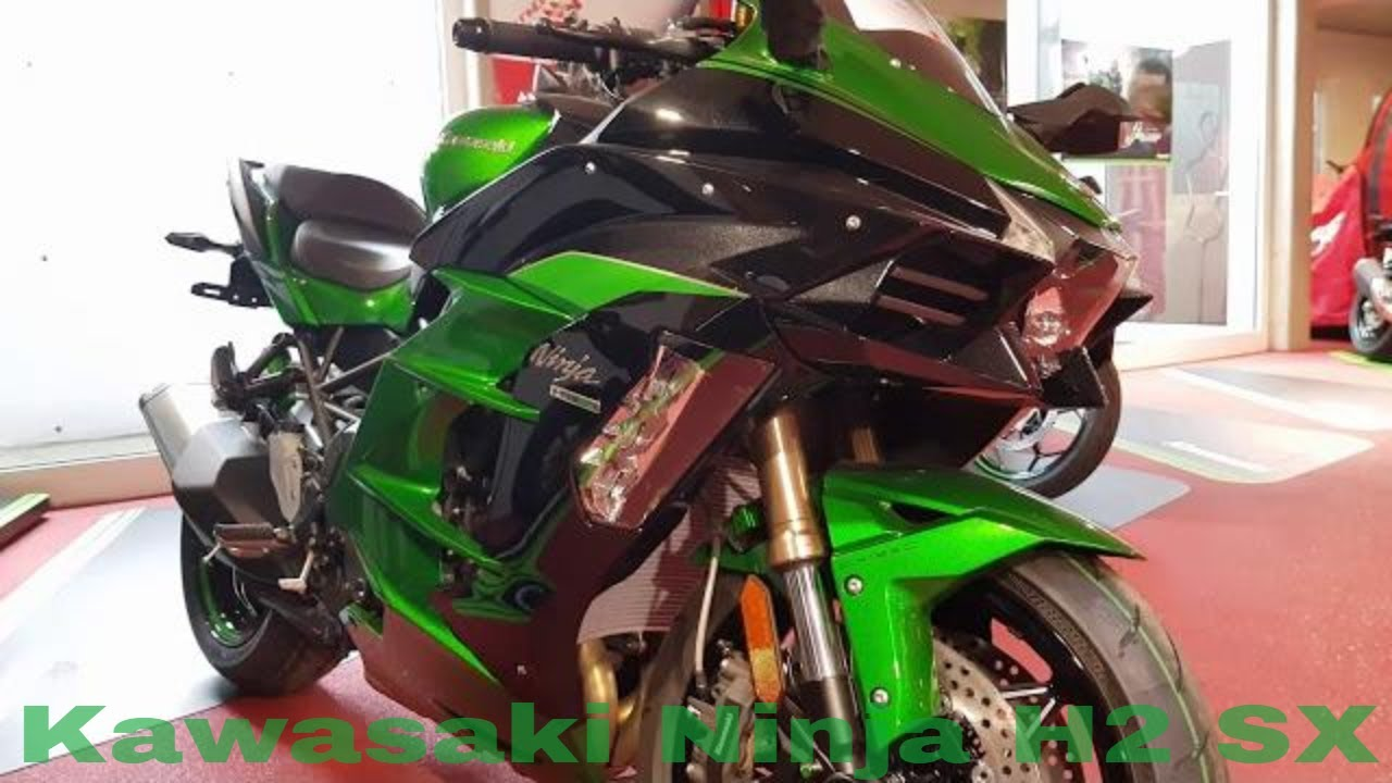Kawasaki Ninja H2 Sx Walk Around 2019 4k Youtube