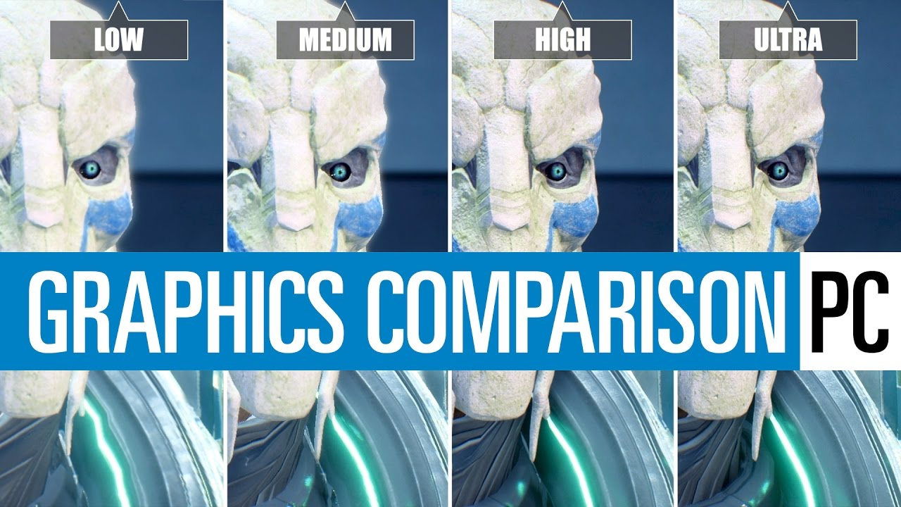 Low Vs Medium Vs High: Mass Effect Andromeda (PC) Graphics Comparison