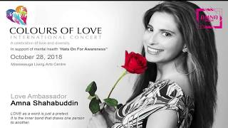 Colours of Love VIP Event   September 14th   2018