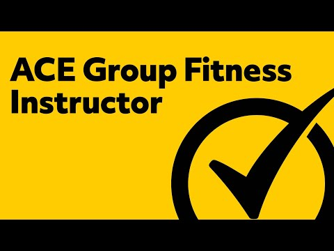 Free ACE Group Fitness Instructor Study Guide