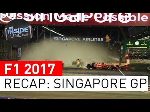F1 NEWS 2017 - RACE RECAP: SINGAPORE GRAND PRIX [THE INSIDE LINE TV SHOW]