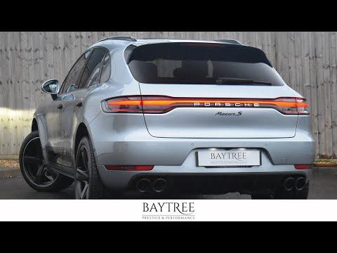 2019 FACELIFT Dolomite Silver Porsche Macan S - Walkaround