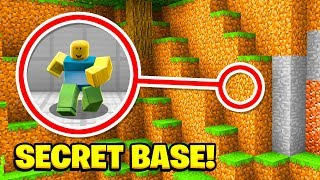 Minecraft : We Found THE ROBLOX SECRET BASE! (Ps3/Xbox360/PS4/XboxOne/PE/MCPE)